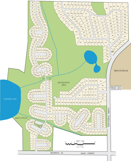 Dittmar Realty - Green Valley Siteplan